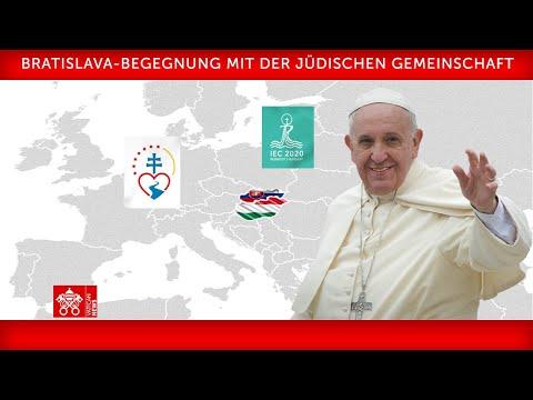 Wortlaut: Papstrede an jüdische Gemeinde in Bratislava
