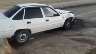 """Водитель автомобиля """"Daewoo Nexia"""" влетел в выкопанную траншею"""