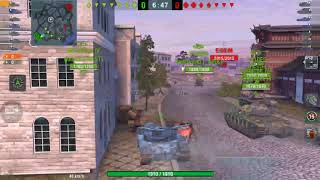 World Of Tanks Blitz 👑  B. C. Does a nose slide funny 😂