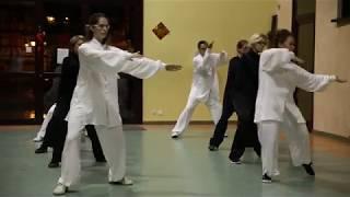 Démonstration Tai chi Jiti (groupe)