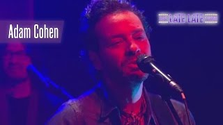 """Adam Cohen - """"We Go Home""""   The Late Late Show"""