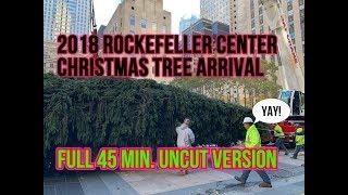 Rockefeller Center Christmas Tree Arrival - Full Uncut Video
