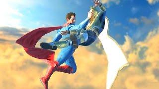 Injustice 2 All Super Moves on Dr. Fate (No HUD) 4K UHD 2160p