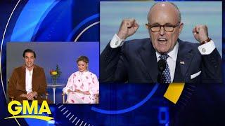 Sacha Baron Cohen responds to Rudy Giuliani's claims about 'Borat' scene l GMA