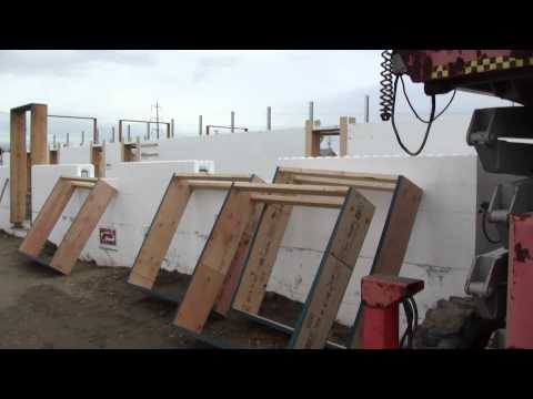 Fox Blocks Whitecourt Shop Part 2 - Above Grade Insulated Concrete Forms