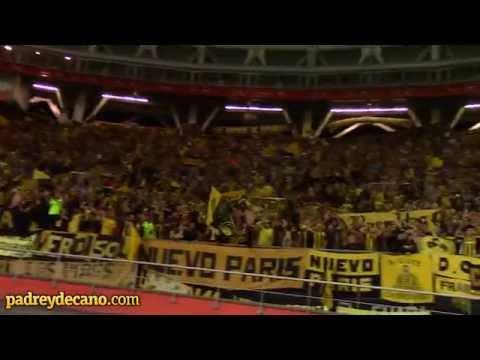 """""""""""Y dale dale Pe, Peñarol"""" - Hinchada en La Plata"""" Barra: Barra Amsterdam • Club: Peñarol"""