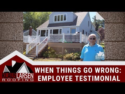 Steve Kohout in Morris, CT, experienced an 'act of god' rainstorm during his install, which doused an area of...