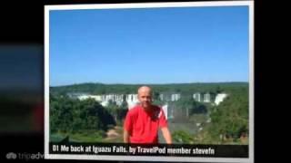 preview picture of video 'Devil's Throat walkway Stevefn's photos around Iguazu Falls, Brazil (devil's throat brazil)'