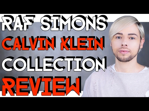 RAF SIMONS for CALVIN KLEIN collection and ad REVIEW