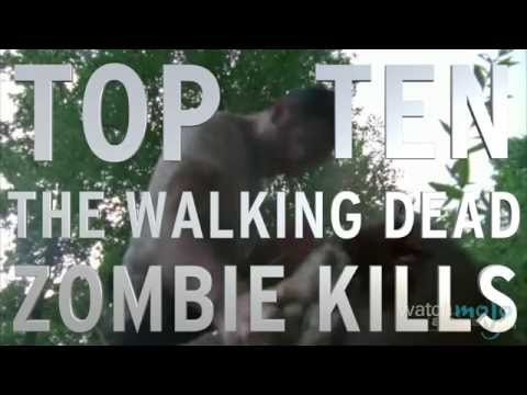 Top 10 The Walking Dead Zombie Kills (Quickie)