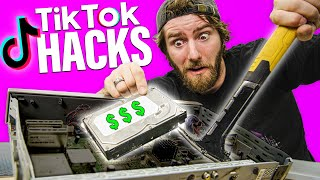 Trying TikTok Computer Hacks...