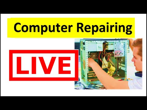 Computer Repairing (Hardware) Training   LIVE   कंप्यूटर ...