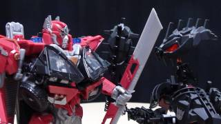 Mascot Reviews DOTM Leader SENTINEL PRIME