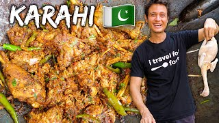 Pakistani Street Food 🇵🇰 Chicken Karahi Recipe!! | Street Food At Home Ep. 1