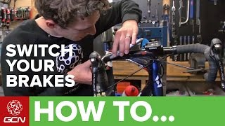 How To Switch Your Front And Rear Brakes