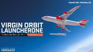 Watch Virgin Orbit launch a rocket from a 747!!!