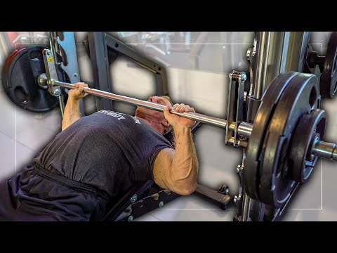 """How To Get a """"BIG"""" Chest with the Smith Machine"""