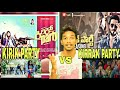 Kirik Party Vs Kirrak Party Trailer REACTION | Telugu vs Kannada Trailer