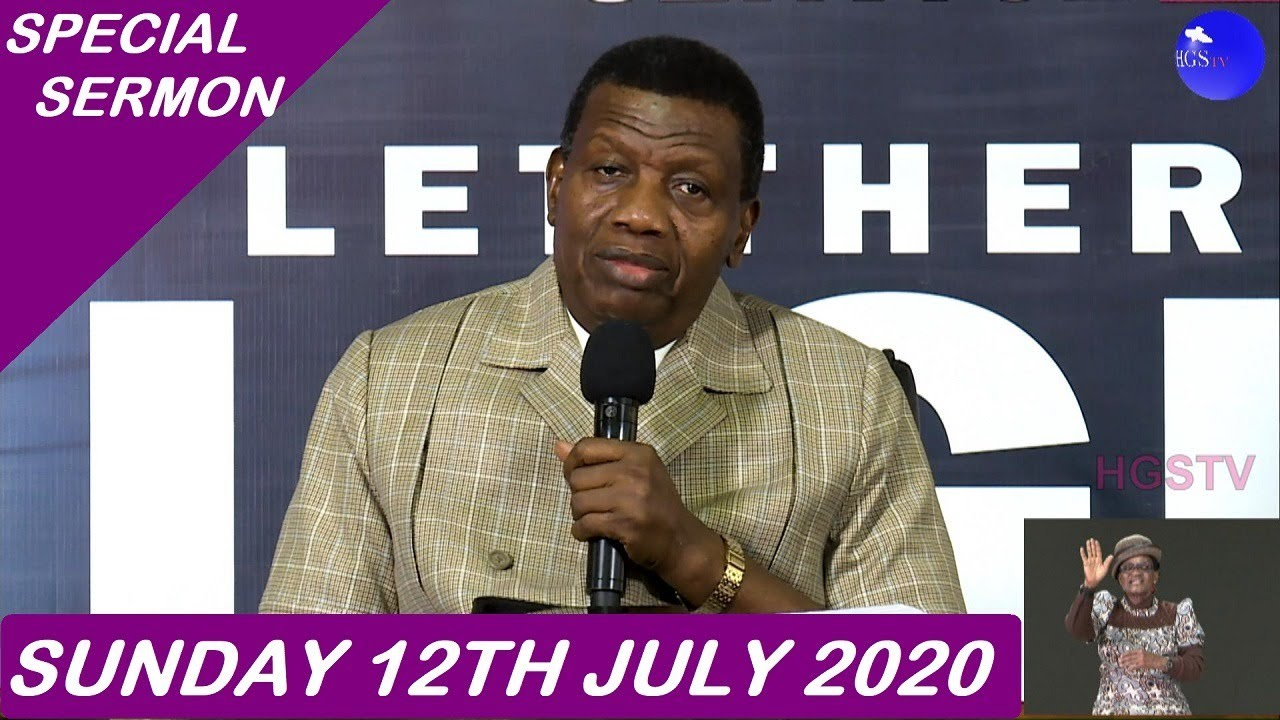 RCCG Sunday Service 12th July 2020