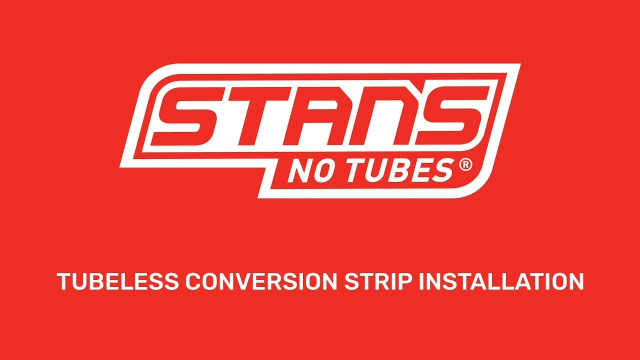Tubeless Conversion Strip Installation