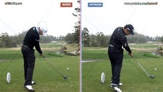 [Slow HD] Louis OOSTHUIZEN vs Alexander NOREN Driver Golf Swing_2013 European Tour