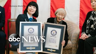 The oldest person in the world is 116 years and 66 days old