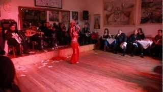 Fakarouni followed by Accordion Taqsim and Beledi ~ Sira Belly dancer NYC