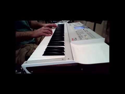 Piano Demonstration of 'Sea Shanty' with Alberti Bass