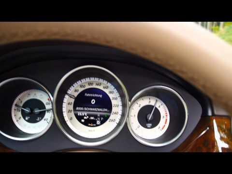 Mercedes CLS-Class 350 CDI 4MATIC Coupé Acceleration 0 to 100 km/h - Autogefühl Autoblog