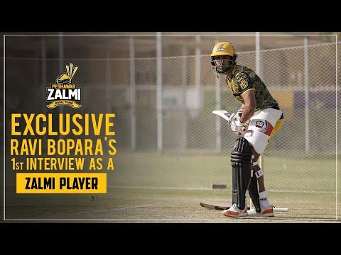 Ravi Bopara | First Interview as a Zalmi Player | PSL 6