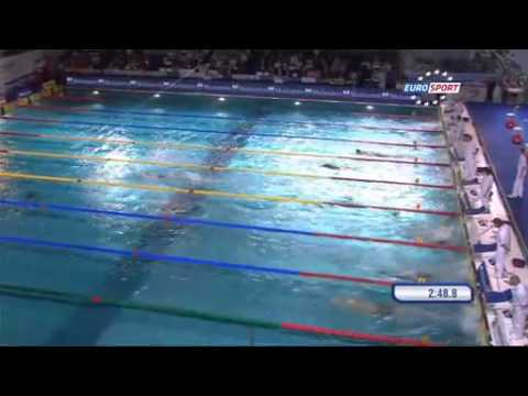 Video 400free European Swimming Championships Chartres