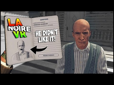 HE DIDN'T LIKE MY ARTWORK • L.A. NOIRE: THE VR CASE FILES • EPISODE 3 - HTC VIVE GAMEPLAY