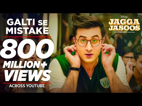 Download Jagga Jasoos: Galti Se Mistake Video Song | Ranbir, Katrina | Pritam, Arijit, Amit | Amitabh B HD Mp4 3GP Video and MP3