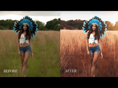 Photoshop CC Tutorial : Outdoor Portrait Editing 📷