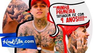 """Tatuagem dos MCs com MC Pedrinho – """"Minha Primeira Tatuagem foi com 9 Anos"""""""
