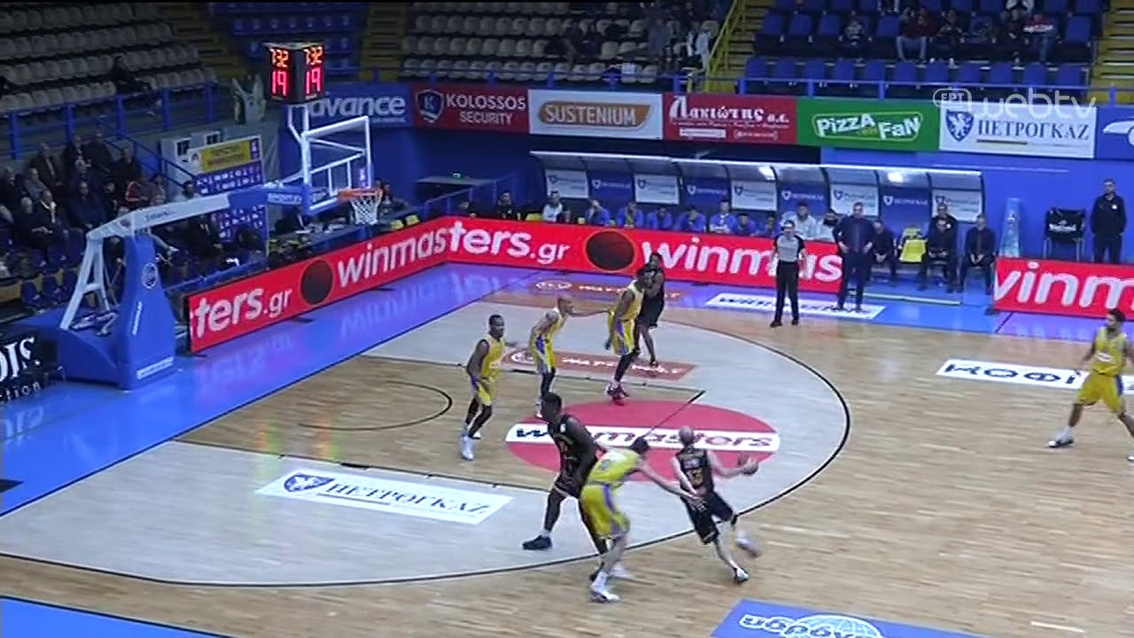 Basket League 2019-2020: ΠΕΡΙΣΤΕΡΙ – ΡΕΘΥΜΝΟ | HIGHLIGHTS | 11/01/2020 | ΕΡΤ