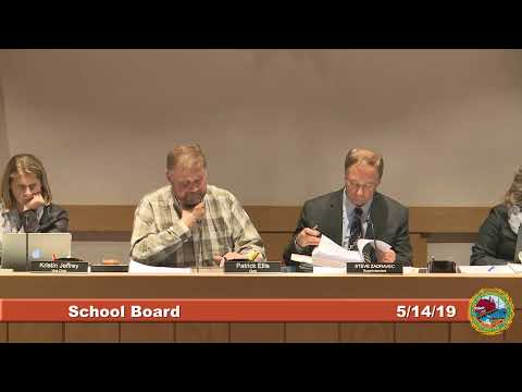 School Board 5.14.19