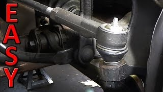 How to Change Tie Rods (inner and outer tie rod ends)