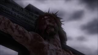 Juan 19:17-29, Mateo 27: 51-55  Crucifican A Jesús (Superbook)