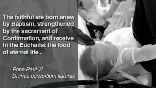 Sacraments 101: Baptism (why we baptize)