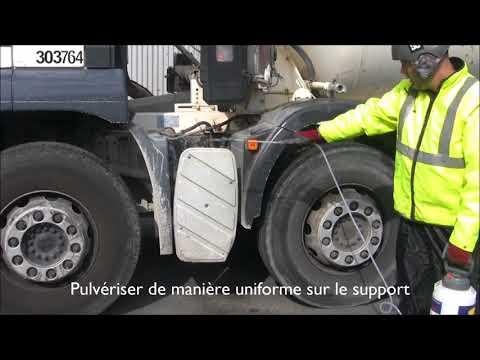 GT WASH & GO:  Shampooing nettoyant pour camions et matériel du BTP