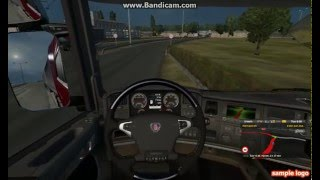 Steering wheel animation ETS2 mod 1800 degrees