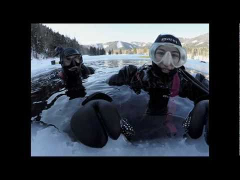 ice diving erlaufsee