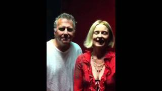 Julia Fordham and Paul Reiser give a Shout Out to smooth Jazz live viewers