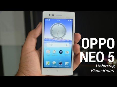 Oppo Neo 5 Unboxing - PhoneRadar