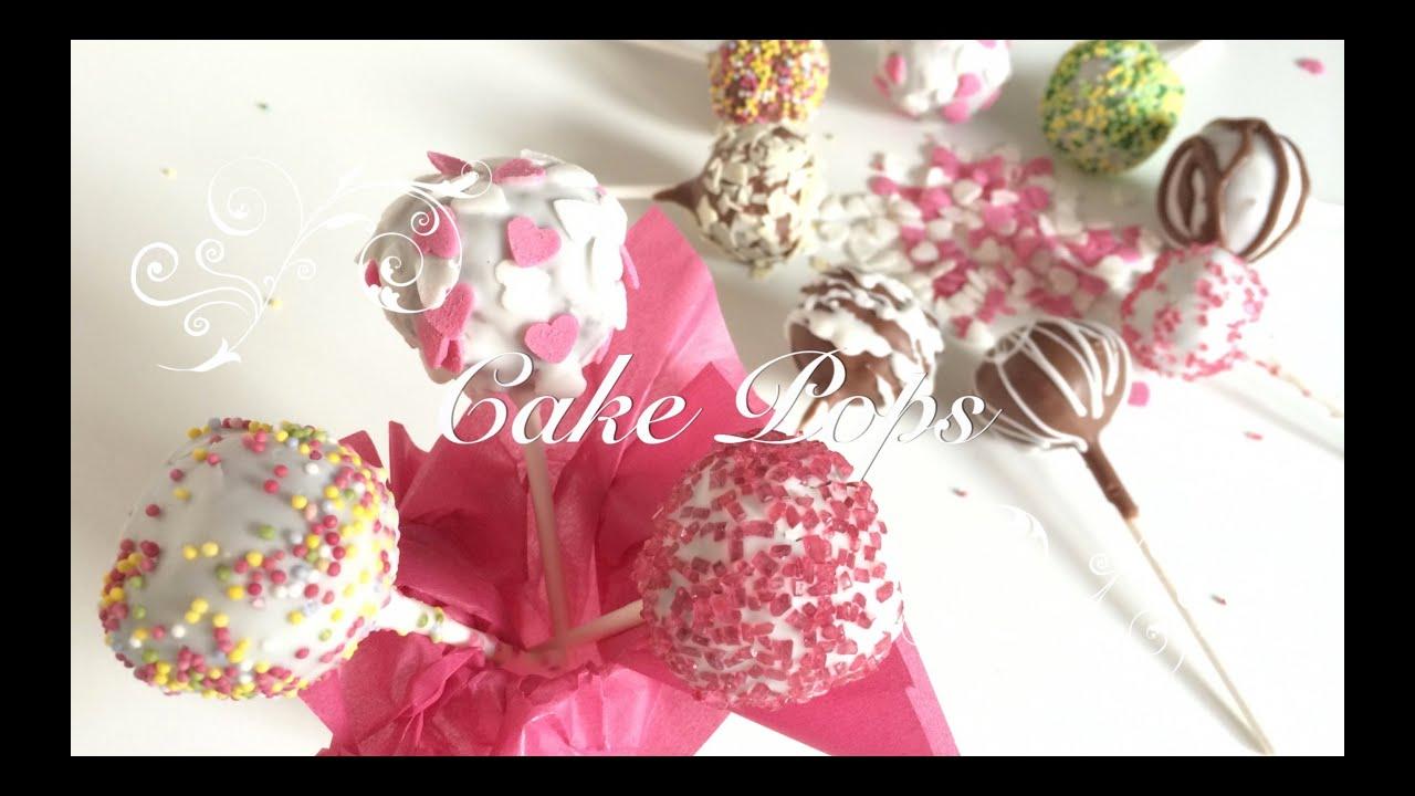Como hacer Cake pops paso a paso | Cake Pops Faciles | Cake Pops de Muffins en Español chefdemicasa