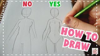 ☆ HOW TO DRAW || Female Body Tutorial ☆