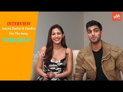 Interview Of Amyra Dastur & Zaeden For The Single Song 'Tere Bina'   Zaeden New Music Video