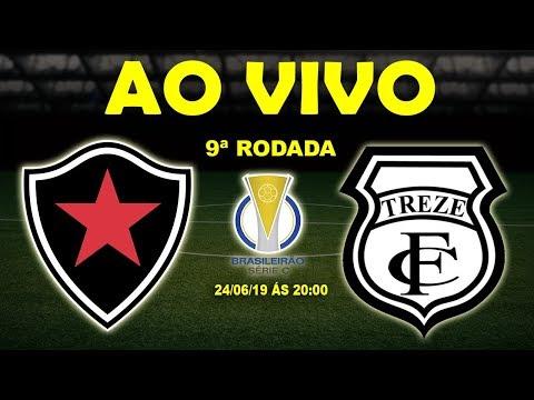 Botafogo-PB x Treze Ao Vivo HD   Brasileirão Série C   9ª Rodada   24/06/19