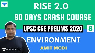 L8: Threat to Biodiversity & IUCN | Crack UPSC CSE/IAS 2020 | Prelims 2020 Crash Course | Amit Modi - Download this Video in MP3, M4A, WEBM, MP4, 3GP